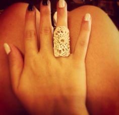 Lovely ring, silver, handmade, #mestella_handmade