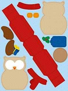 Ursus 28100099 - Geschenkboxen Set Eule, 8 Boxen, sortiert in 2 Motiven, bunt: Amazon.de: Spielzeug