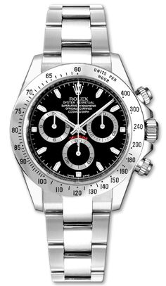 116520  ROLEX DAYTONA OYSTER PERPETUAL COSMOGRAPH MENS WATCH     Usually ships within 8 weeks - FREE Overnight Shipping - NO SALES TAX (Outside California)  - WITH MANUFACTURER SERIAL NUMBERS- Black Dial- Chronograph Feature    - Self Winding Automatic Chronometer Movement- 3 Year Warranty- Guaranteed Authentic  - Certificate of Authenticity- Polished with Brushed Steel Case