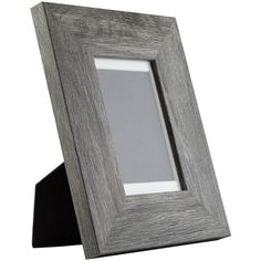 4x6-Inch Barnwood Gray Standing Picture Frame Mat With 3.5x5-Inch... ($14) ❤ liked on Polyvore featuring home, home decor, frames & displays, grey, home & living, home décor, gray home decor and grey home decor
