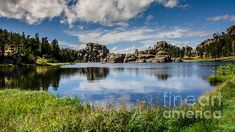 Title  Scenic Sylvan Lake At Custer State Park   Artist  Debra Martz   Medium  Photograph - Photography