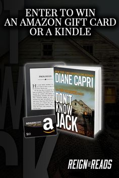 Win a Kindle Paperwhite or $10 Amazon Gift Card from NY Award-Winning, Bestselling Author Diane Capri. Ends 9/19.