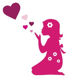 Thank you to all pinners ~ for your lovely pins that make me smile, laugh, think and appreciate! No limits on my pins, enjoy! Round Robin, Hello Welcome, Silhouette Portrait, Girl Silhouette, Applique, Valentines, Valentine Heart, Thankful, Grateful