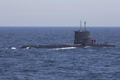 160607-N-KP948-175 BALTIC SEA (June 7, 2016) Vice Adm. James Foggo III, commander, Naval Striking and Support Forces NATO, commander, U.S. 6th Fleet, tours Swedish submarine HSwMS Halland, June 7, 2016. BALTOPS is an annual recurring multinational exercise designed to improve interoperability, enhance flexibility and demonstrate the resolve of allied and partner nations to defend the Baltic region. (U.S. Navy photo by Mass Communication Specialist Seaman Alyssa Weeks/Released)