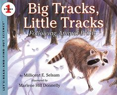 Big Tracks Little Tracks  Following Animal Prints Lets-Read-and-Find-Out Science Stage 1