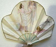Rare Miniature Fan, France, circa 1920