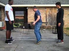 how to Chinese Jump rope (Scissors)