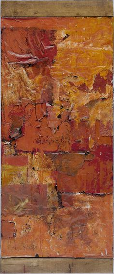 Untitled (Red Painting) by Robert Rauschenberg from Solomon R. Guggenheim Museum