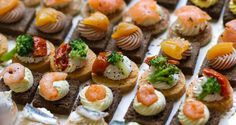 Just a Sip Section:  Savory mini nibbles