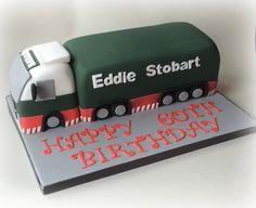 Eddie Stobart cake............