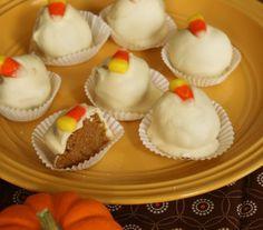 Carosello: Salted Caramel Pumpkin Spice Cake Truffle Recipe