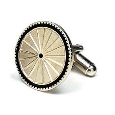 Cufflinks inc bicycle cufflinks (pd-byt-sl) cufflinks product features bicycle cyclist wheel tour cufflinks cuff links approximately 3/4 diameter brushed nickel finish bullet backing free gift wrapping with each order! Comes packaged in a limited edition collectors storage box! Seller links contact us ebay store shipping returns why you should buy from us? Trusted seller, great feedback quick shipping and tracking huge discounts excellent returns policy the best customer service shipping...
