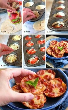 "Mini pizzas from ""pizza planet"". #toystory"