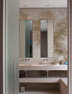 Meer dan 1000 ideeën over Badkamer Behang op Pinterest - Badkamer ...
