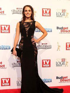 Cassie Howarth 2015 Logies | dailytelegraph.com.au