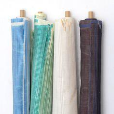 A:クリスプSAAAA SAAAはnani IROがうまれた15年前のストライプの名前。復活して、オリジナルあふれる個性的なラインでありながら、より使いやすい色柄の登場ですダブルガーゼ 綿-100% 生地巾→106c