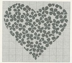 ru / Cuore di ortensie Hortensienherz - * E * l * i * s * a * T * o * r * t * o * n * e * s * i * - cirokko Cross Stitch Heart, Cross Stitch Alphabet, Cross Stitch Flowers, Filet Crochet Charts, Knitting Charts, Wedding Cross Stitch Patterns, Cross Stitch Designs, Cross Stitching, Cross Stitch Embroidery