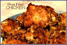 Sweet Tea and Cornbread: Oven Fried Chicken!