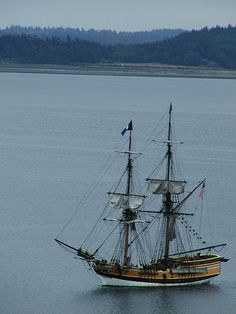 The Lady Washington :: Tall Ships in Port Townsend Bay