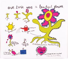 Niki de Saint Phalle - Our Love was a Beautiful Flower