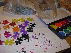 Die fantastischen 5: Puzzle-Recycling (2)