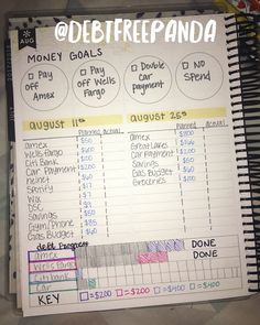 Planning my budget it my planner. Dav… - Topic Money - Economics, Personal Finance and Business Diary Planner Pages, Printable Planner, Planner Stickers, Printables, Planner Ideas, Financial Peace, Financial Tips, Financial Planning, Dave Ramsey