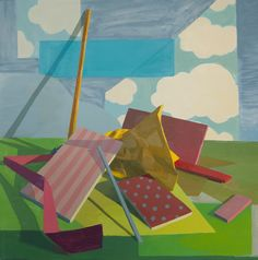 Shane Walsh, Reconstructed Afternoon, 2010, oil on canvas, 29 x 29 inches (courtesy of the artist)