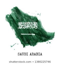 Find Saudi Arabia Flag Watercolor Painting Design stock images in HD and millions of other royalty-free stock photos, illustrations and vectors in the Shutterstock collection. Thousands of new, high-quality pictures added every day. Cute Black Wallpaper, Lion Wallpaper, Gold Wallpaper, Emoji Wallpaper, Saudi Arabia Culture, Ksa Saudi Arabia, National Day Saudi, Saudi Men, Country Maps