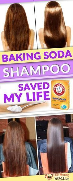 DIY: Homemade Baking Soda Shampoo Saved My Hair -- Regular shampoos have lots of chemicals that can ruin your hair. Using this one you will get a beautifully and silky hair DIY: Home