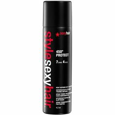 Sexy Hair Hair care Style Sexy Hair Headset Heat Defense Setting Spray 250 ml Frizz Control, Hot Tools, Playing With Hair, Setting Spray, Unisex, Protective Hairstyles, 1 Oz, Sprays