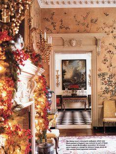 Habitually Chic® » Christmas at Swan House