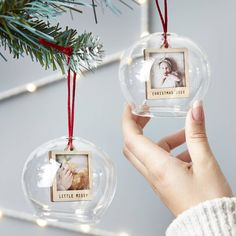 Our Personalised Mini Photo Glass Bauble from Sophia Victoria Joy may just be what you are looking for Christmas Minis, Babies First Christmas, Christmas Crafts, Christmas Bulbs, Xmas, Personalised Christmas Baubles, Mini Photo, Diy Crafts To Sell, Glass Ornaments