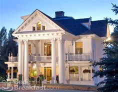 The beautiful Gibson Mansion Bed and Breakfast in Missoula, MT.  Staying here over the labor Day Weekend!