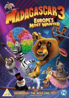 Madagascar 3: Europe's Most Wanted [DVD]: Amazon.co.uk: Ben Stiller, Chris Rock, David Schwimmer, Sacha Baron Cohen, Eric Darnell, Tom McGrath: Film & TV