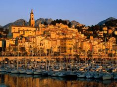 Menton (Occitan: Menton in classical norm or Mentan in Mistralian norm; Italian: Mentone) is a commune in the Alpes-Maritimes department in the Provence-Alpes-Côte d'Azur region in south-eastern Franc France Wallpaper, World Wallpaper, Saint Tropez, Menton France, Provence France, Cannes, The Places Youll Go, Places To See, France City