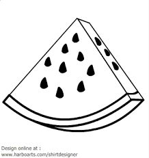 fruit clipart black and white