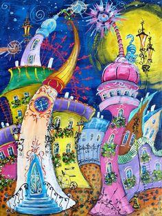Painting by Tatyana Murova SOLD