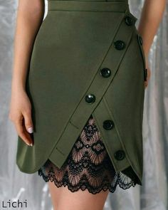 Skirt design outfit Ideas for 2019 Fashion Pants, Fashion Dresses, Fashion Shoes, Fashion Clothes, Color Fashion, Dresses Dresses, Dress Suits, Blue Fashion, Style Fashion