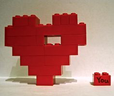 lego heart with missing piece
