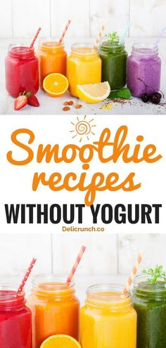 Healthy Smoothies Super refreshing healthy smoothie recipes without yogurt to try this summer. Easy smoothie recipes that aid weight loss and good for kids. Can be sugar-free or dairy-free. Add this to your breakfast food list. Oreo Smoothie, Apple Smoothies, Good Smoothies, Breakfast Smoothies, Yogurt Free Smoothies, Dairy Free Smoothie, Breakfast Healthy, Green Smoothies, Junk Food