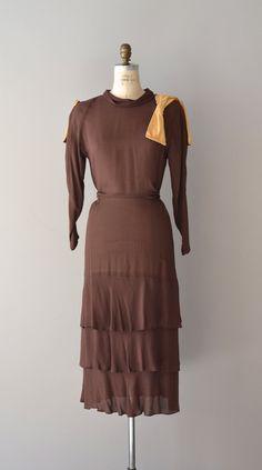 vintage 1930s dress | 42nd Parallel dress