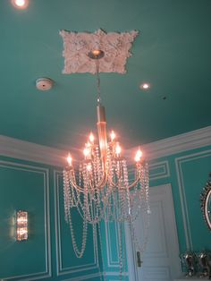 Tiffany Blue everywhere! Tiffany Suite at the St. Regis, Manhattan