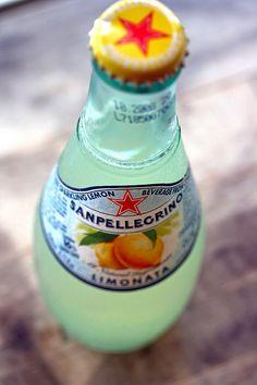 Sanpellegrino lemonade. Looks so refreshing.