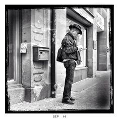 Street Cowboy, Frankfurt am Main, Deutschland, 2014
