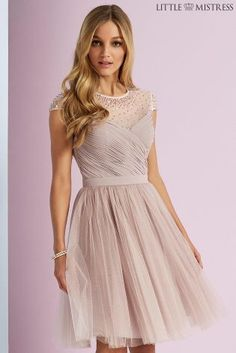 Buy Little Mistress Beaded Prom Dress from the Next UK online shop