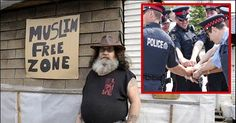 """4/10/2016 AMENDMENTS: Liberals Call Police On Veteran's """"Muslim Free Zone,"""" Cops Have 9 Perfect Words"""