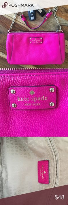 Kate spade bag Beautiful Kate Spade bag. Perfect for an evening out. No dust bag. Listing is for purse only. Used twice kate spade Bags Mini Bags