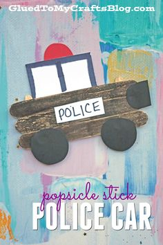 Car lovers unite in this latest DIY tutorial from Glued To My Crafts! Check out our popular Popsicle Stick Cars kid craft idea!
