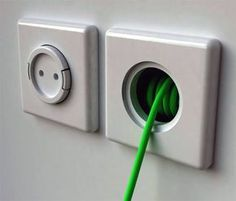 Rambler Socket Built-in Wall Extension Cord – will be in my next home @ DIY House Remodel