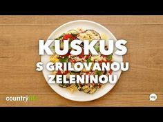 Tenhle kuskus v sobě spojuje dvě chuťově výrazné složky – grilovanou zeleninu a miso zálivku s jablečným octem a piniemi. Netradiční kombinace, ale pokud jde o chuť, tak správně vyladěná! :) Country Life, Country Living, Res Life